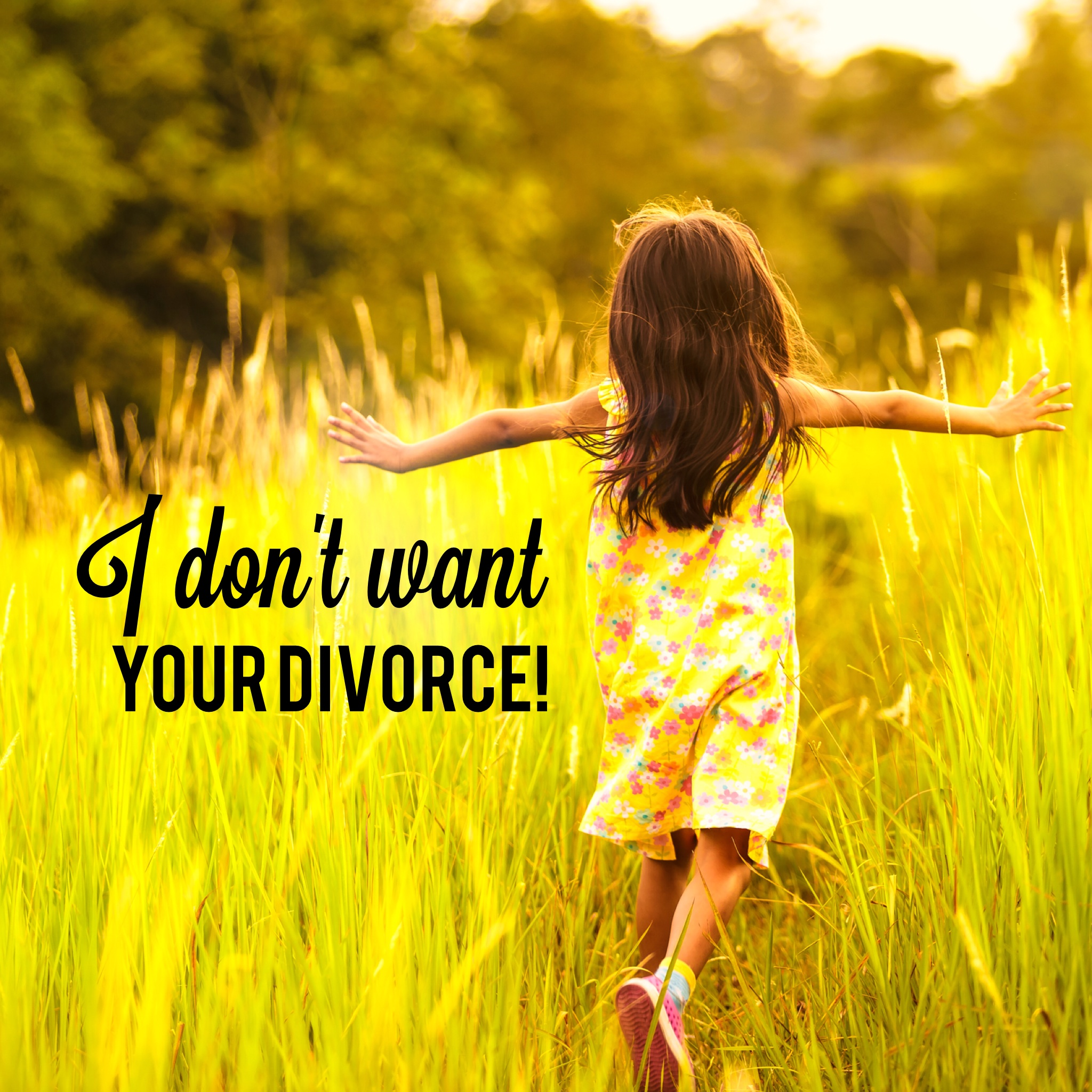 I Might Be Your Daughter, But I Don't Want Your Divorce